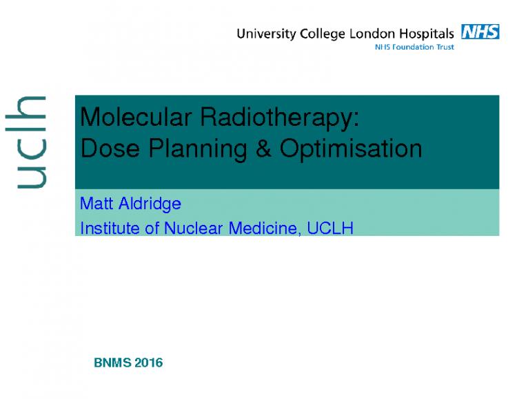 IDUG Dosimetry Workshop BNMS 2016