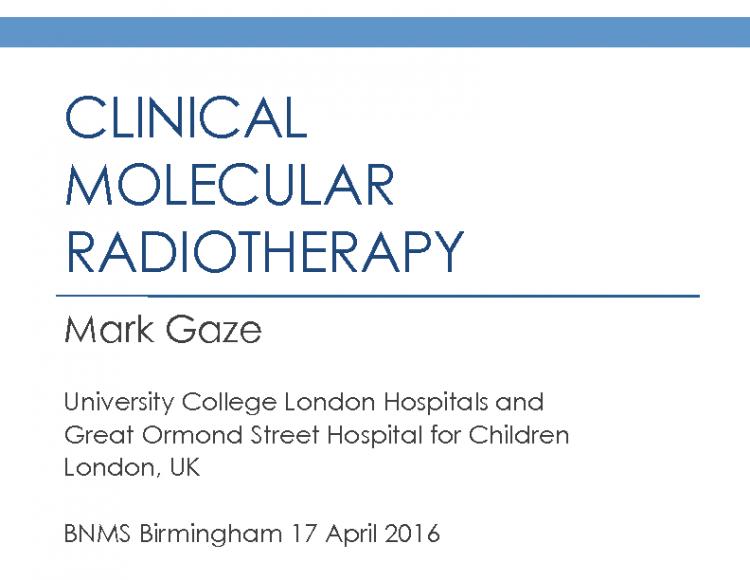 IDUG BNMS 2016 Gaze Clinical MRT